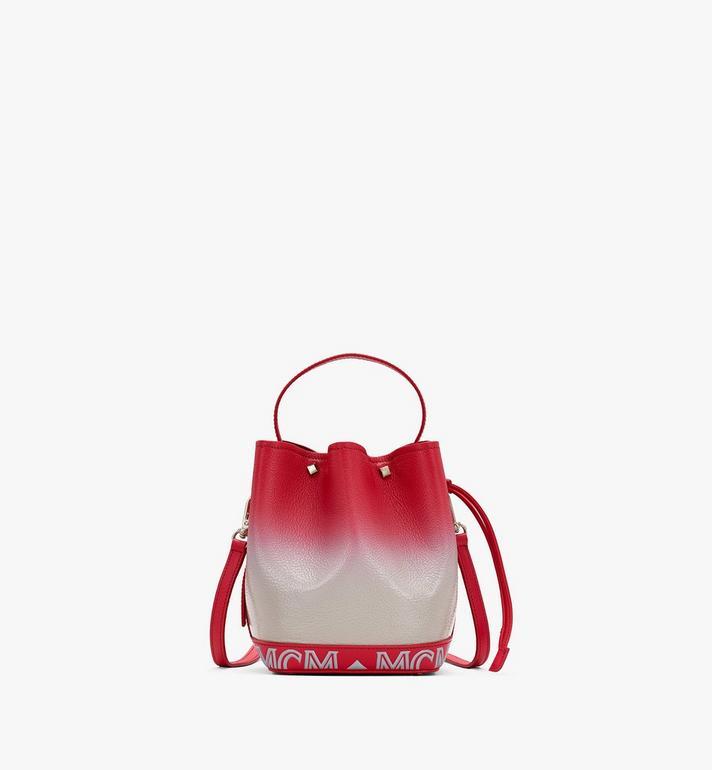 MCM Milano Drawstring Bag in Patent Leather Gradient Alternate View