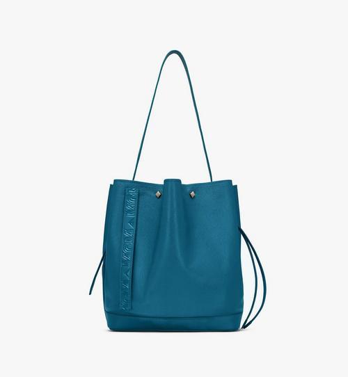 Milano Drawstring Bag in Goatskin Leather