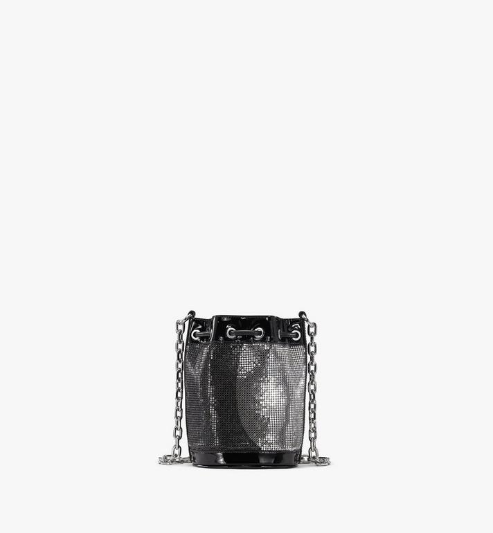 MCM Essential Disco Drawstring Bag Black MWDASSE06BK001 Alternate View 3