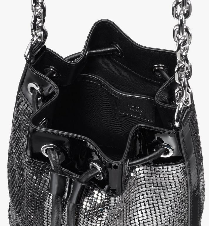 MCM Essential Disco Drawstring Bag Black MWDASSE06BK001 Alternate View 4