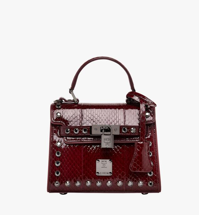 Neo Heritage Satchel in Exotic Crystal Leather