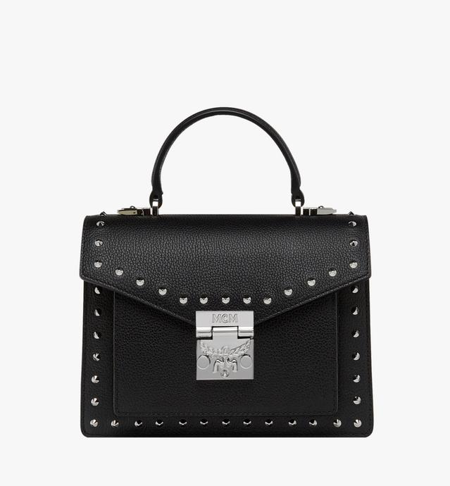 Patricia Satchel in Studded Outline Leather c8c2d245ccb1e