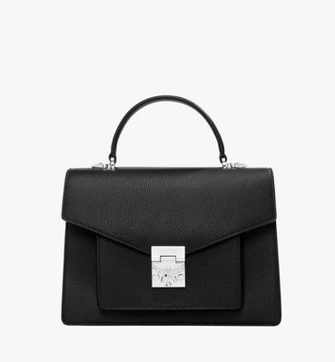 Patricia Pocket Satchel in Grained Leather 1debf9059a2c2