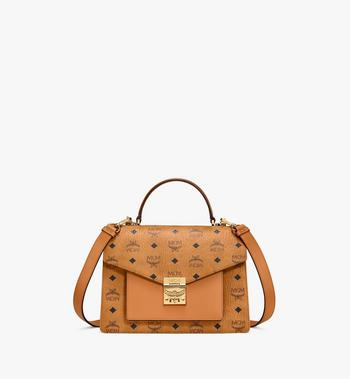 MCM Patricia Satchel in Visetos Alternate View