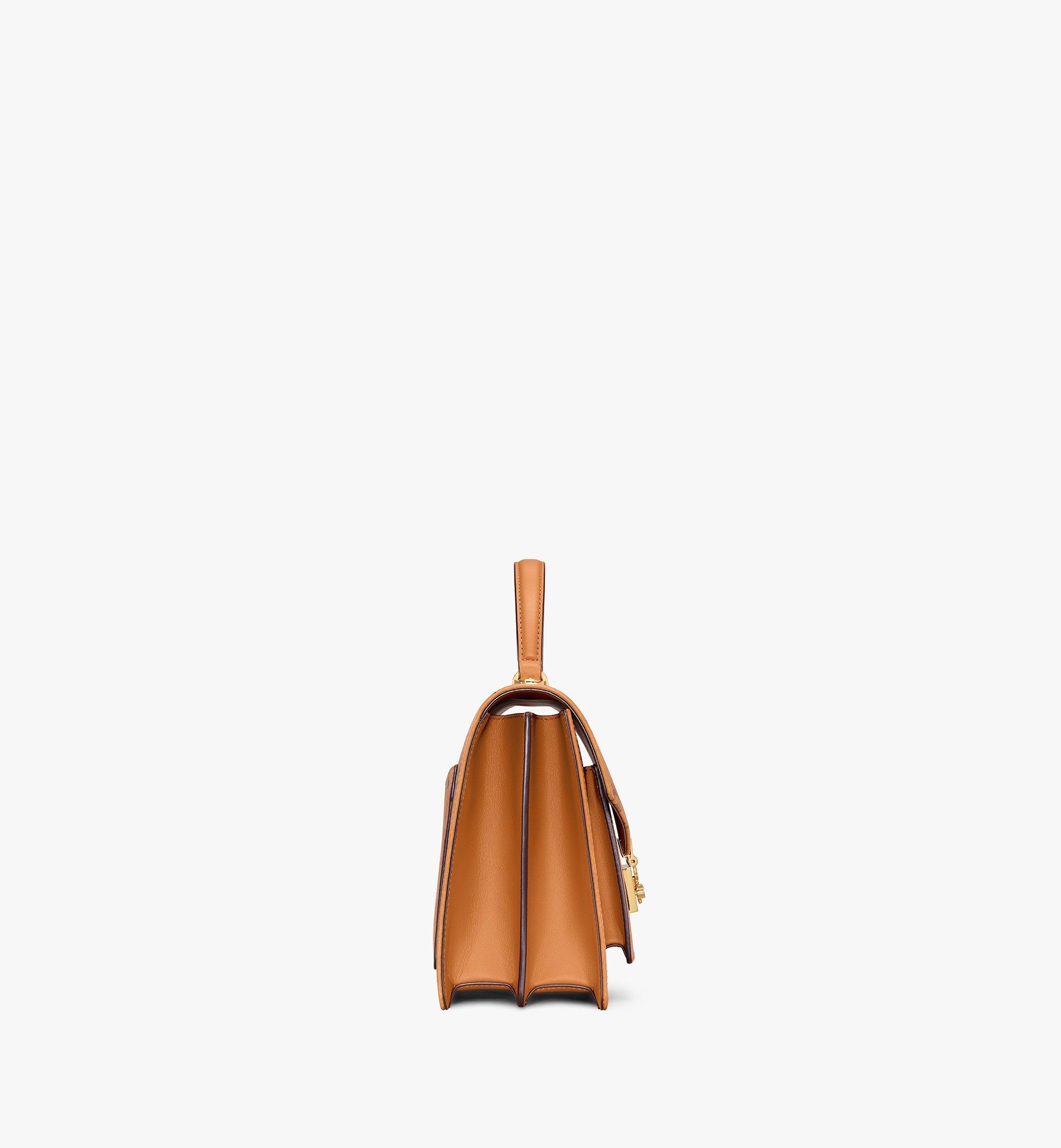 MCM Patricia Satchel-Tasche in Visetos Cognac MWE8APA67CO001 Noch mehr sehen 1