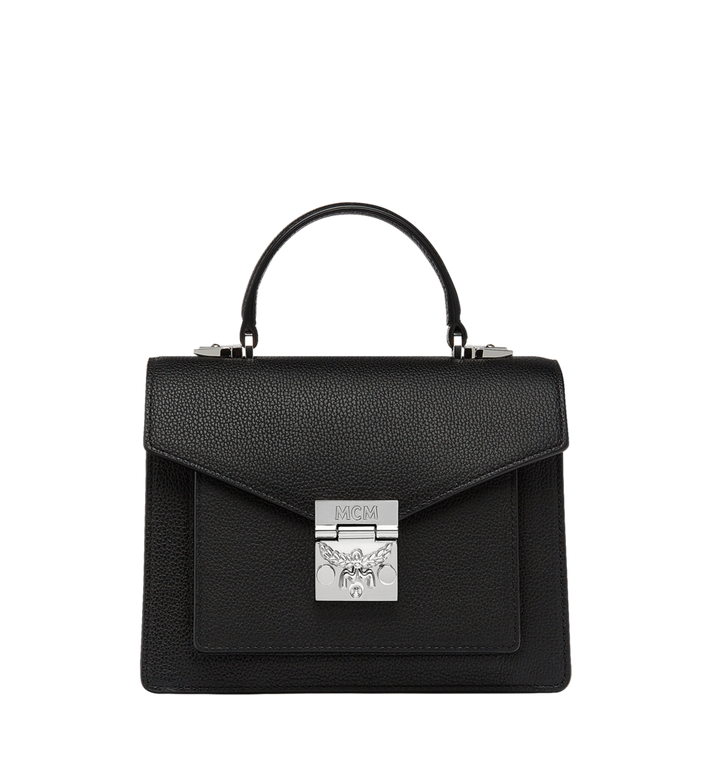 MCM Patricia Satchel in Grained Leather Alternate View 1