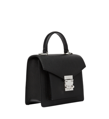 MCM Patricia Satchel in Grained Leather Alternate View 2