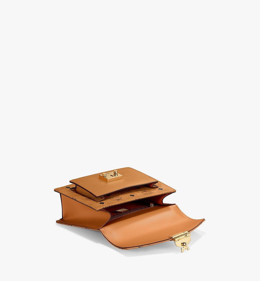 MCM Patricia Satchel-Tasche in Visetos Cognac MWE8APA69CO001 Noch mehr sehen 2