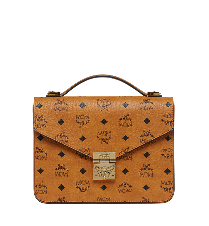 MCM Patricia Satchel in Visetos AlternateView1