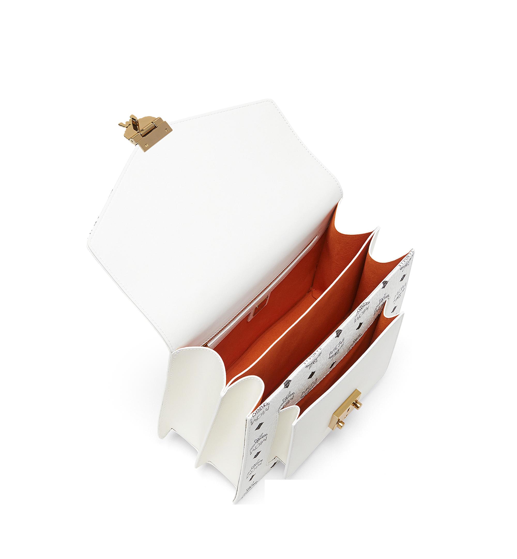 MCM Visetos 系列的 Patricia Pocket 劍橋包 White MWE8SPA67WT001 更多視圖 4