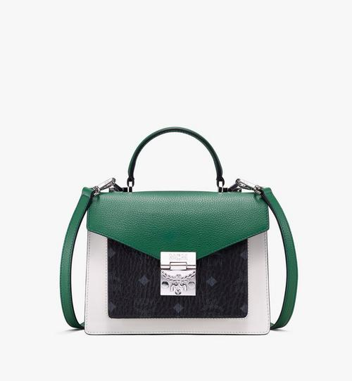 Patricia Satchel in Color Block Leather