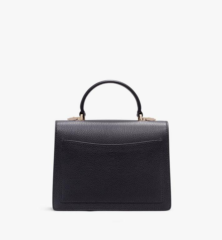 MCM Patricia Satchel in Color Block Leather Alternate View 3