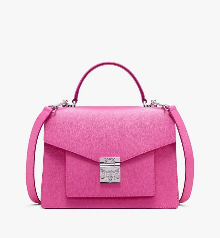 MCM Patricia Satchel aus Leder in Park Avenue Alternate View 1