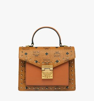 fe1f93f176 Patricia Satchel in Studded Outline Visetos