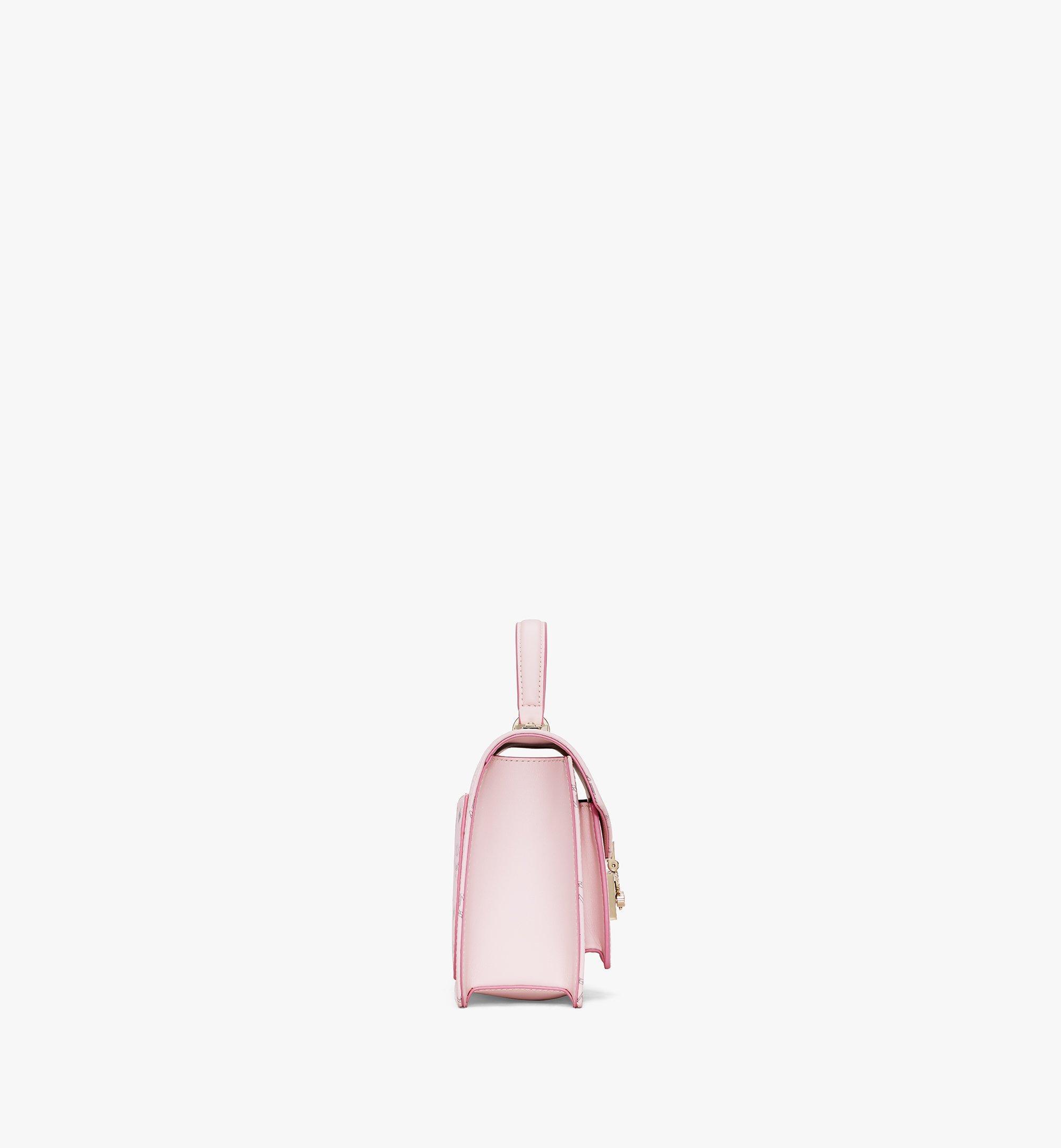 MCM Patricia Satchel-Tasche in Visetos Pink MWEAAPA02QH001 Noch mehr sehen 1