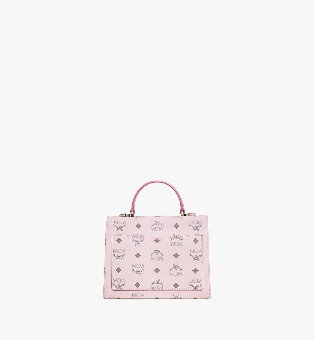 MCM Patricia Satchel-Tasche in Visetos Pink MWEAAPA02QH001 Noch mehr sehen 3
