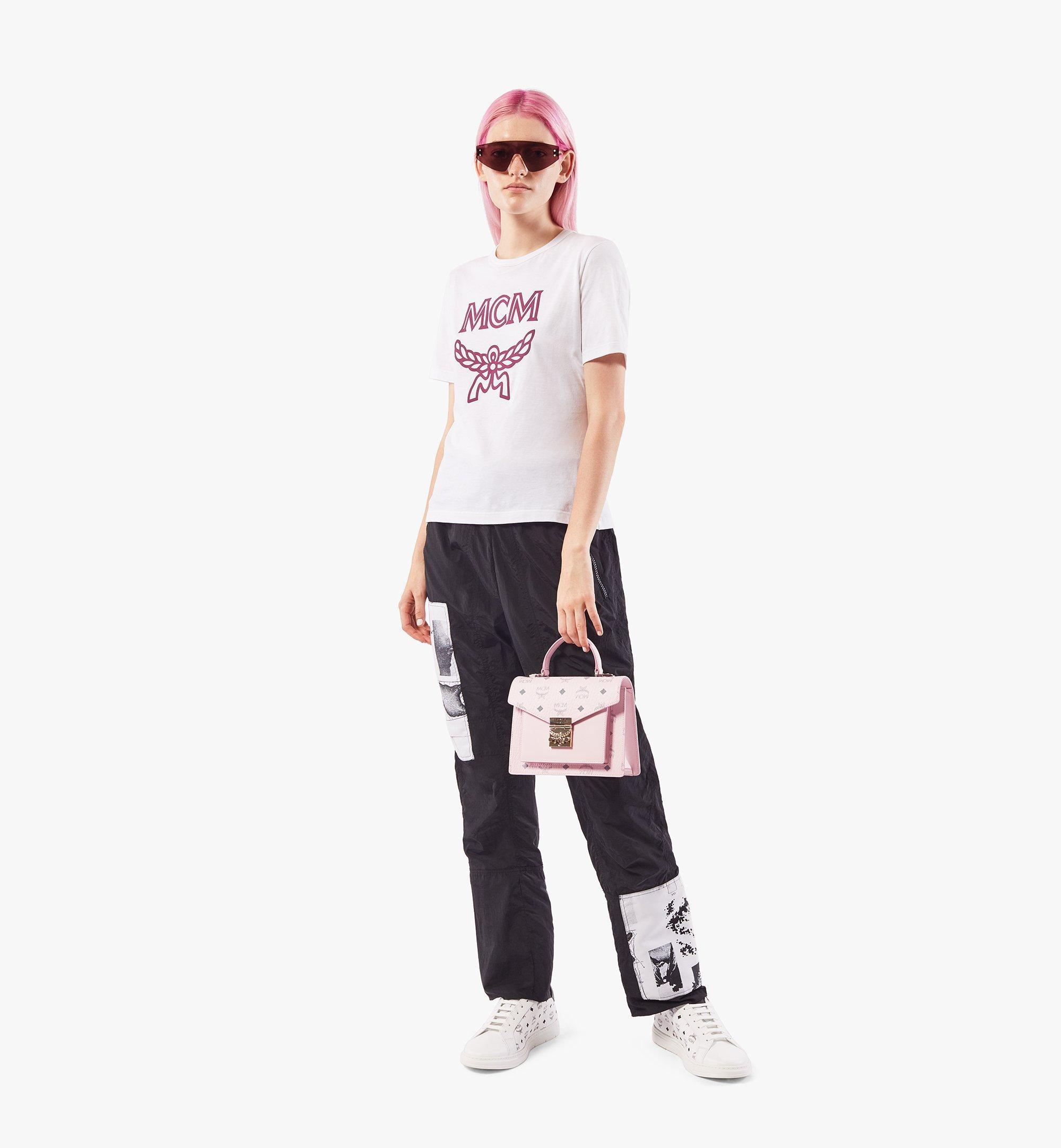 MCM Patricia Satchel-Tasche in Visetos Pink MWEAAPA02QH001 Noch mehr sehen 4