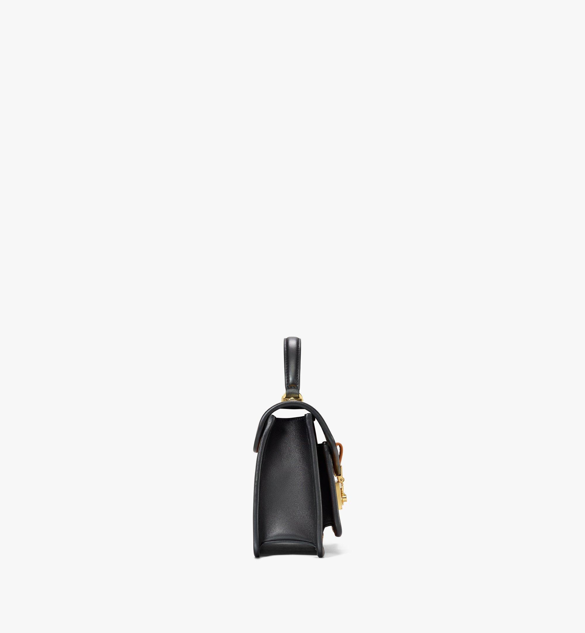 MCM 〈パトリシア〉サッチェルバッグ - ヴィセトス レザー ブロック Cognac MWEAAPA06CO001 ほかの角度から見る 1