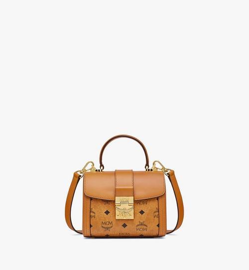 Tracy Satchel-Tasche aus Leder in Visetos