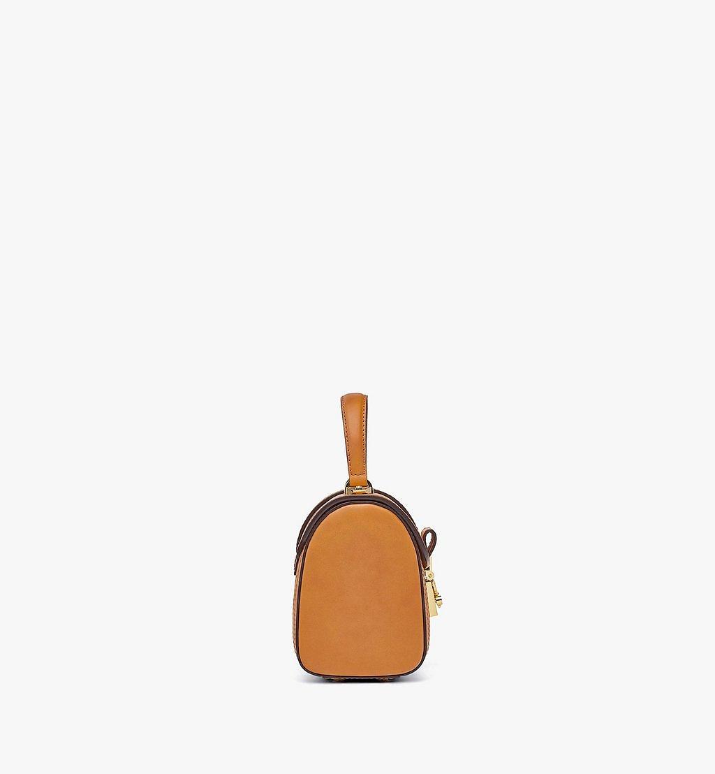 MCM Tracy Satchel-Tasche in Visetos Cognac MWEBSXT02CO001 Noch mehr sehen 1