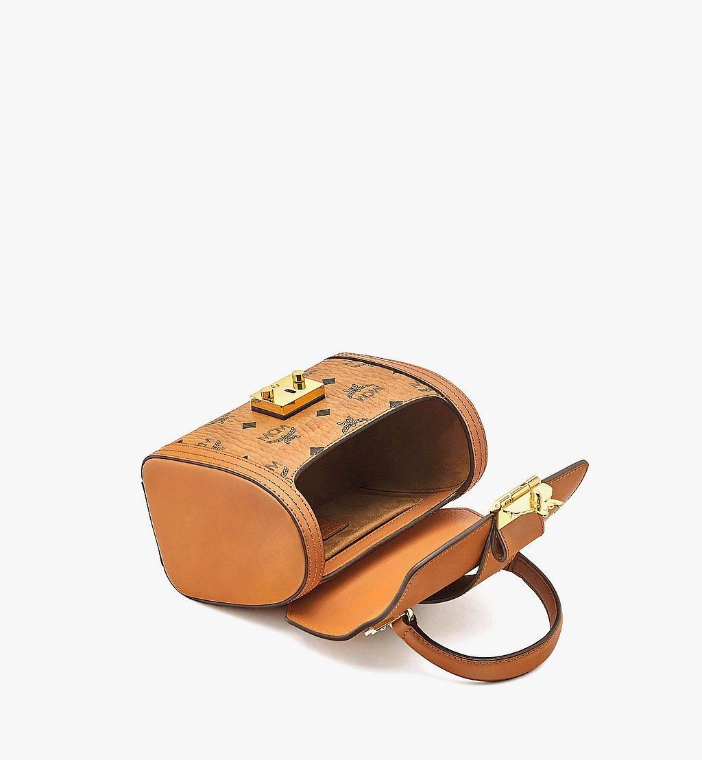 MCM Tracy Satchel-Tasche in Visetos Cognac MWEBSXT02CO001 Noch mehr sehen 2