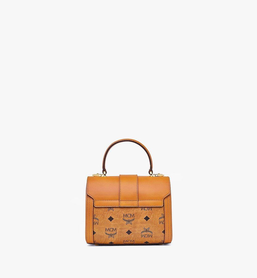 MCM Tracy Satchel-Tasche in Visetos Cognac MWEBSXT02CO001 Noch mehr sehen 3