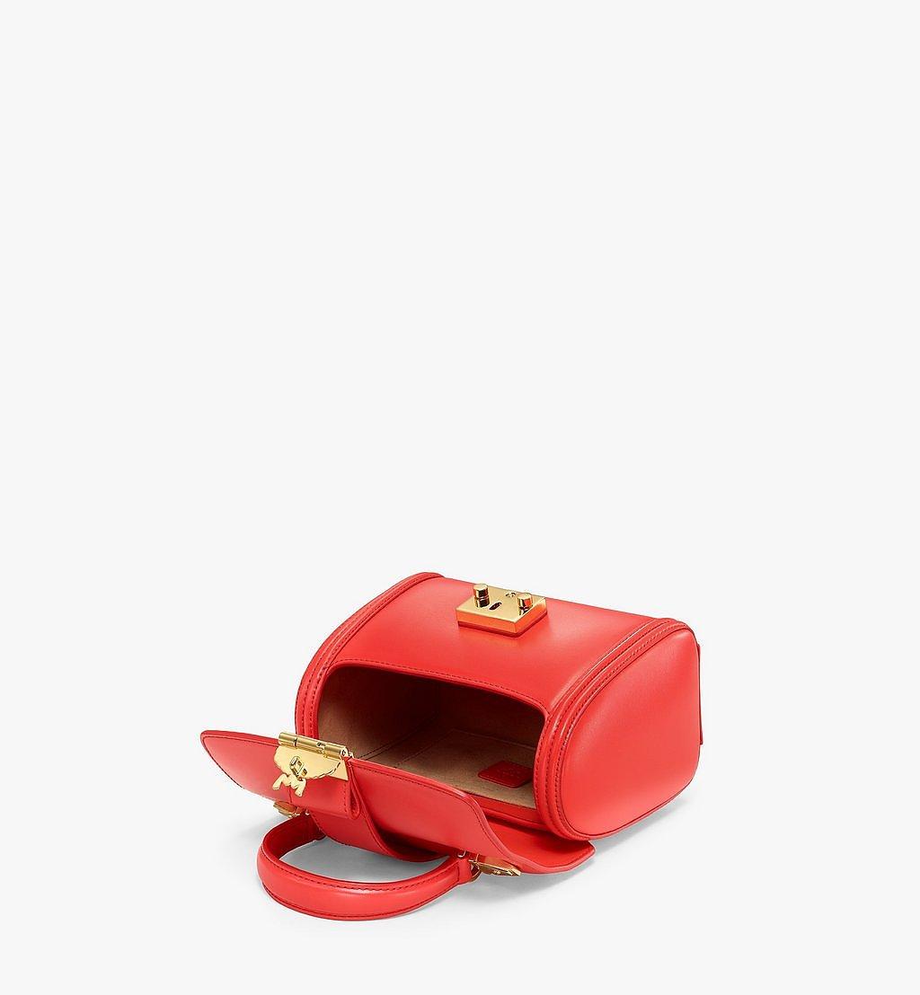 MCM Tracy Satchel-Tasche aus geprägtem spanischen Leder Red MWEBSXT03R8001 Noch mehr sehen 2