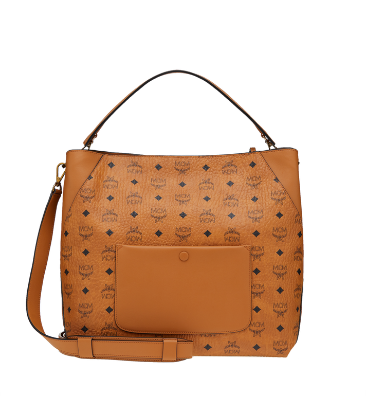 MCM Klara Hobo-Tasche in Visetos  MWH8AKM65CO001 Alternate View 4