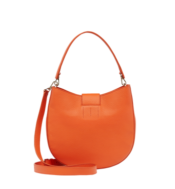 MCM Patricia Hobo in Grained Leather MWH8APA29OD001 AlternateView4
