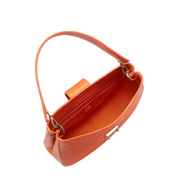 MCM Patricia Hobo in Grained Leather MWH8APA29OD001 AlternateView5