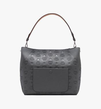 MCM Klara Hobo in Monogram Leather Alternate View 3