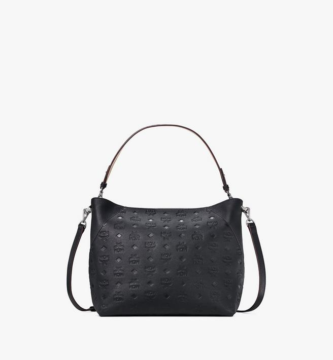 MCM Klara Hobo in Monogram Leather Alternate View