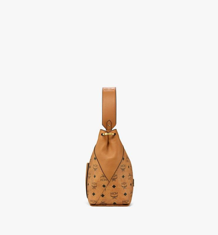 MCM Klara Hobo in Visetos Cognac MWH9SKM86CO001 Alternate View 2