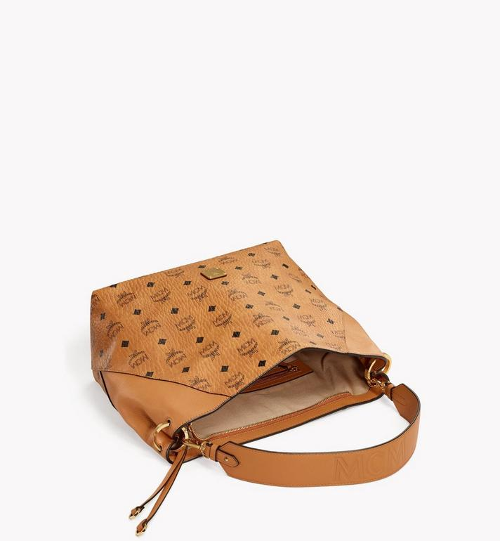 MCM Klara Hobo in Visetos Cognac MWH9SKM86CO001 Alternate View 3