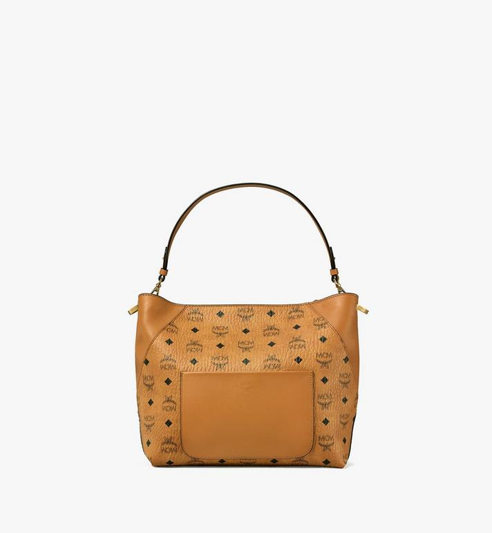 MCM Klara Hobo in Visetos Cognac MWH9SKM86CO001 Alternate View 4