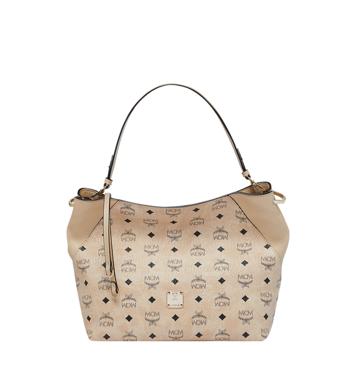 MCM 클라라 비세토스 호보 Beige MWH9SKM86IG001 Alternate View 1