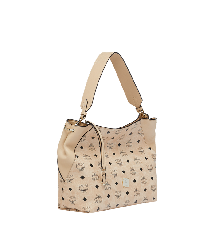 MCM 클라라 비세토스 호보 Beige MWH9SKM86IG001 Alternate View 2