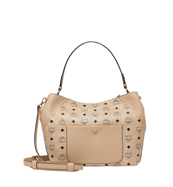 MCM 클라라 비세토스 호보 Beige MWH9SKM86IG001 Alternate View 4