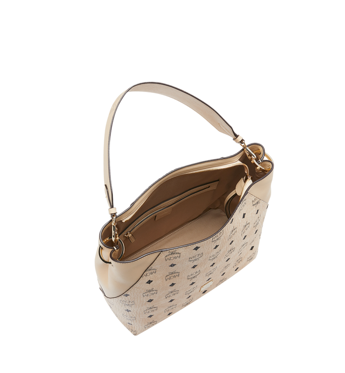 MCM 클라라 비세토스 호보 Beige MWH9SKM86IG001 Alternate View 5