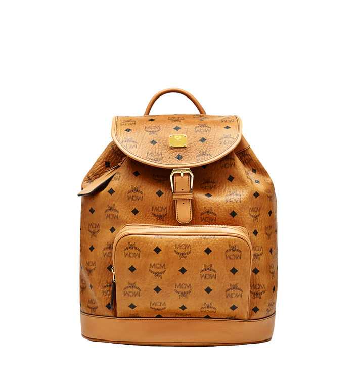 MCM Heritage Single Pocket Rucksack in Visetos Alternate View