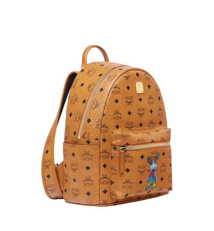 MCM Stark Classic Rabbit Backpack in Visetos Alternate View 2