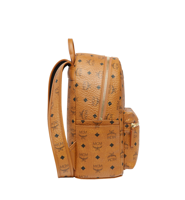 MCM Stark Classic Rabbit Backpack in Visetos Alternate View 3
