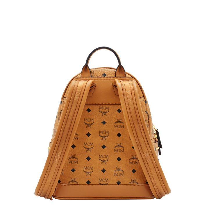 MCM Diamond Visetos Backpack MWK6SVI52CO001 AlternateView4