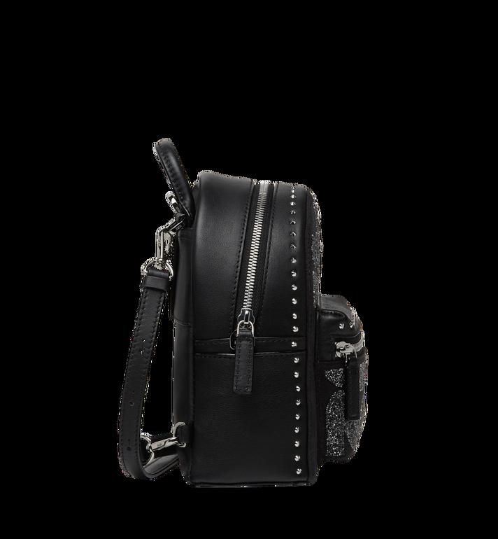 MCM Stark Bebe Boo Backpack in MCM Leopard Crystal MWK8AVE11BK001 AlternateView3