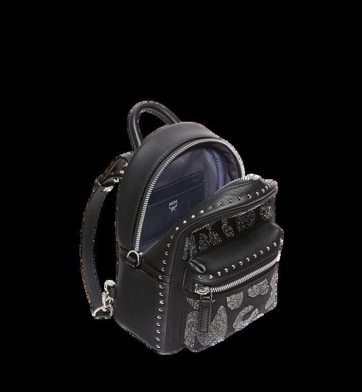MCM Stark Bebe Boo Backpack in MCM Leopard Crystal Alternate View 7