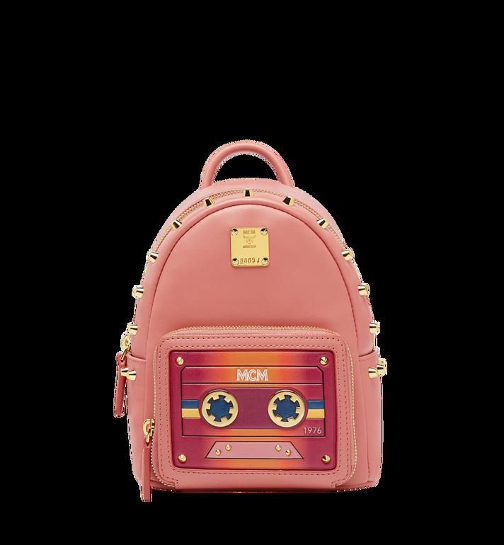 Mcm Stark Bebe Boo Backpack In Cassette Mwk8ave20px001 Alternateview
