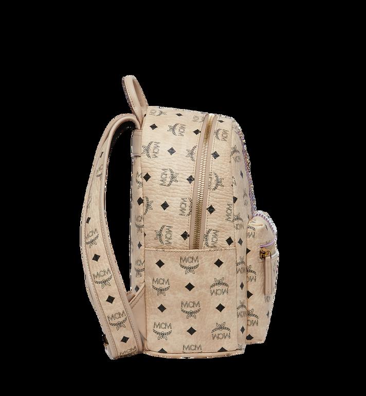 MCM Stark Stripe Rabbit Backpack in Visetos MWK8SXL30IG001 AlternateView3
