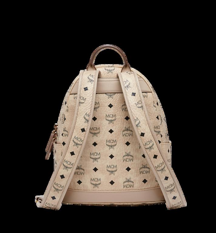 MCM Stark Stripe Rabbit Backpack in Visetos MWK8SXL30IG001 AlternateView4