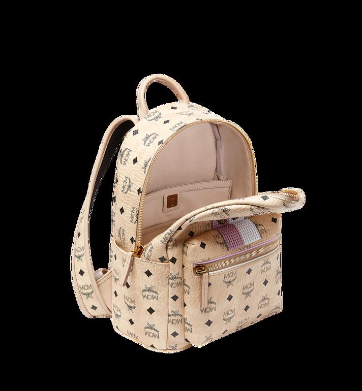 MCM Stark Stripe Rabbit Backpack in Visetos MWK8SXL30IG001 AlternateView5