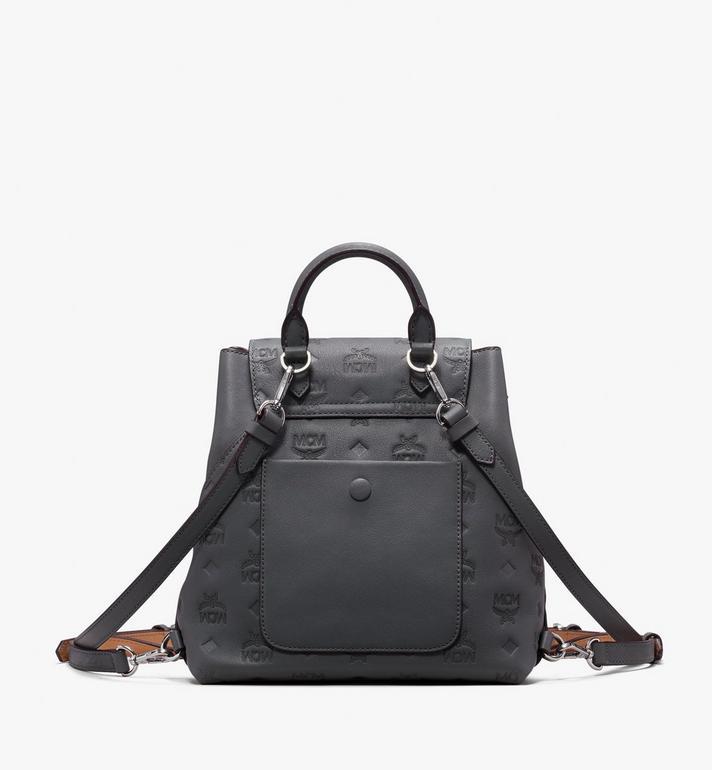 MCM Essential Backpack in Monogram Leather  MWK9ASE03EC001 Alternate View 3